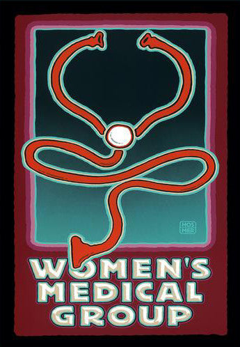 Women's Medical Group Postcard