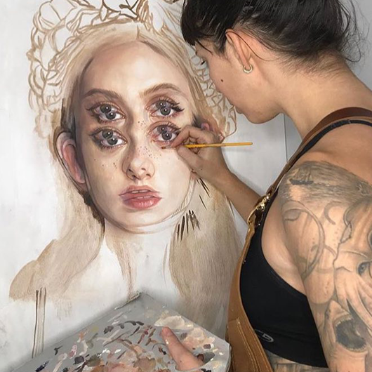 "Behind the Scenes with Alex Garant for ""Seeing Between"""