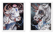 """The Sacred Bull"" & ""The Gift Horse"" Set"