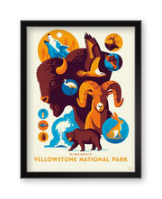 """Iconic Wildlife of Yellowstone National Park"""