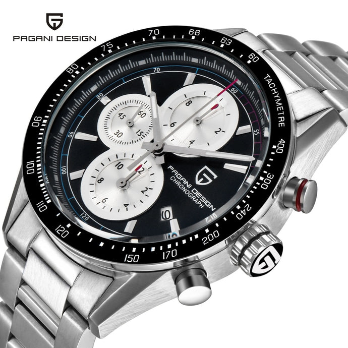 PAGANI SPORTS CHRONOGRAPH: Men's Watch with Tachymeter, Model 2665