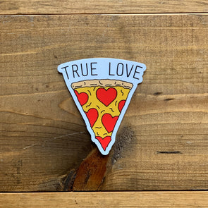 True Love Pizza Sticker