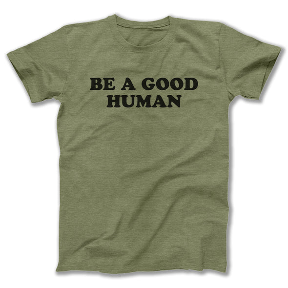 Green Good Human Adult Tee