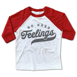 No Hard Feelings Baseball Tee