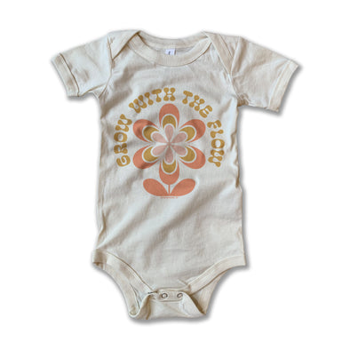 Grow With the Flow Onesie