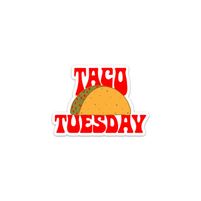 Taco Tuesday Sticker