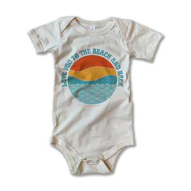 Beach and Back Onesie