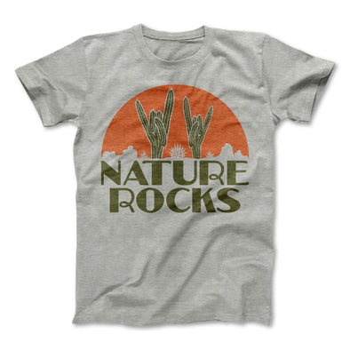 Nature Rocks Adult Tee