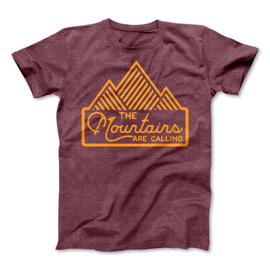 Mountains Are Calling Adult Tee