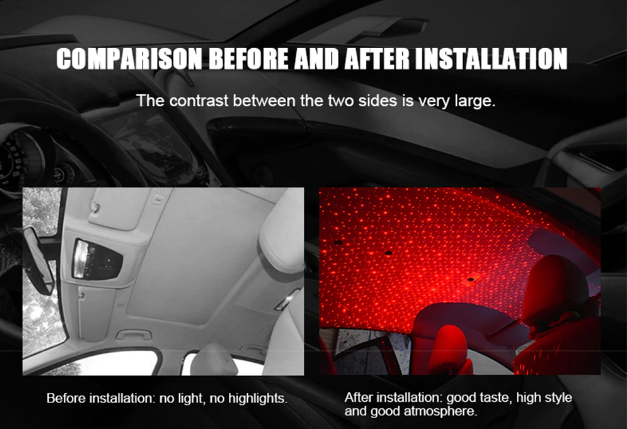 SkyLight™ - Car Star Light Lamp -Instantly Turn your Car into A Light Show