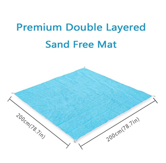 SandFree™ - Sand Free Beach Mat - No More Hassle With Sand and Dust