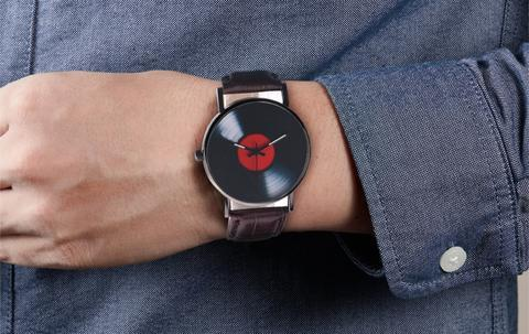 Vinyl Record Watch
