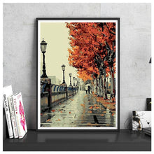 Load image into Gallery viewer, Romantic Autumn Street - Jenra Store