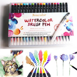 2018 Watercolor Brush Pens - 20 Piece Set - Jenra Store