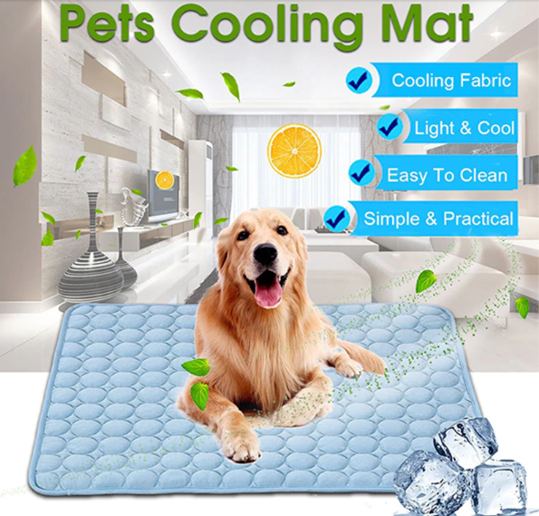 CoolMat™ - Pet Cooling Mat - Cool and Comfy Your Pets Everywhere