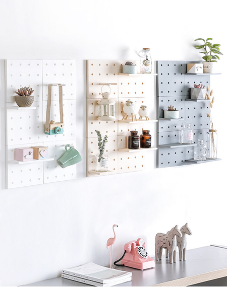 BOARDE™ - DIY Wall-Mount Storage Board - Create Your Unique Wall Decoration