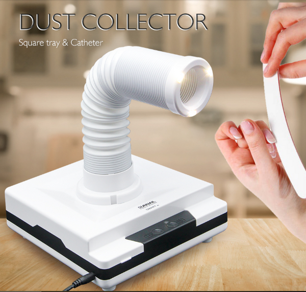 NailDuster  - Nail Dust Collector -  Forget about Cleaning after Doing Your Nails
