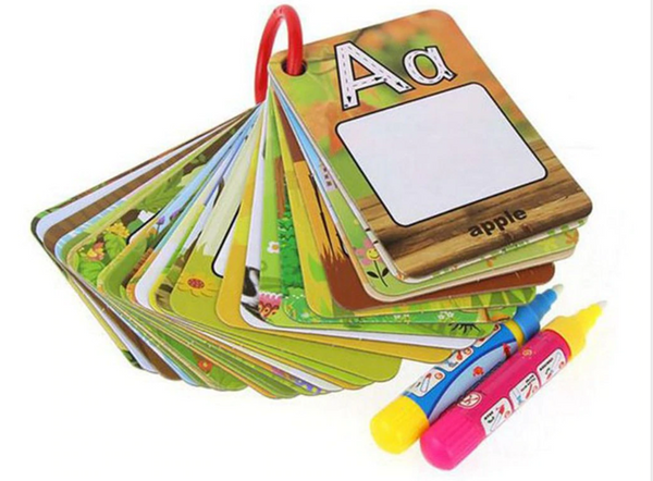 ABCDraw™ - Magic Water Based ABC Drawing Set - Draw, Trace and Never Make a Mess