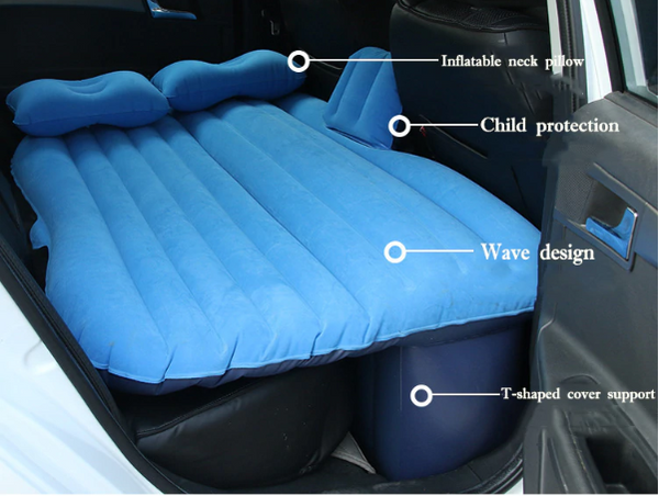 CarBed™ - Inflatable Car Travel Bed - Enjoy the Comfort in Your Car