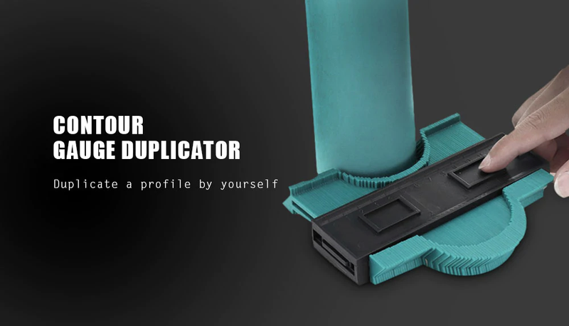 Shapexa™ - Contour Duplication Shape Gauge -  Perfect tool for measurement and contours duplication!