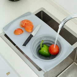 Cut&Wash™ - Kitchen Multifunctional Chopping Board - Level up your food preparation game