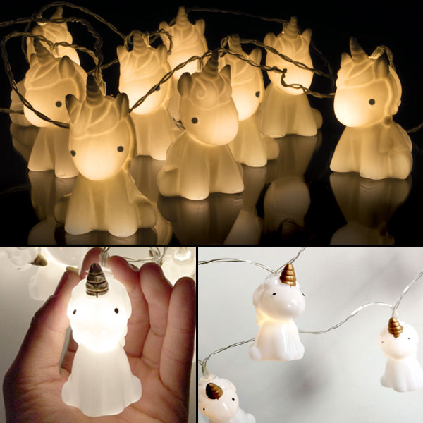 Cute Unicorn LED String Lights - Jenra Store
