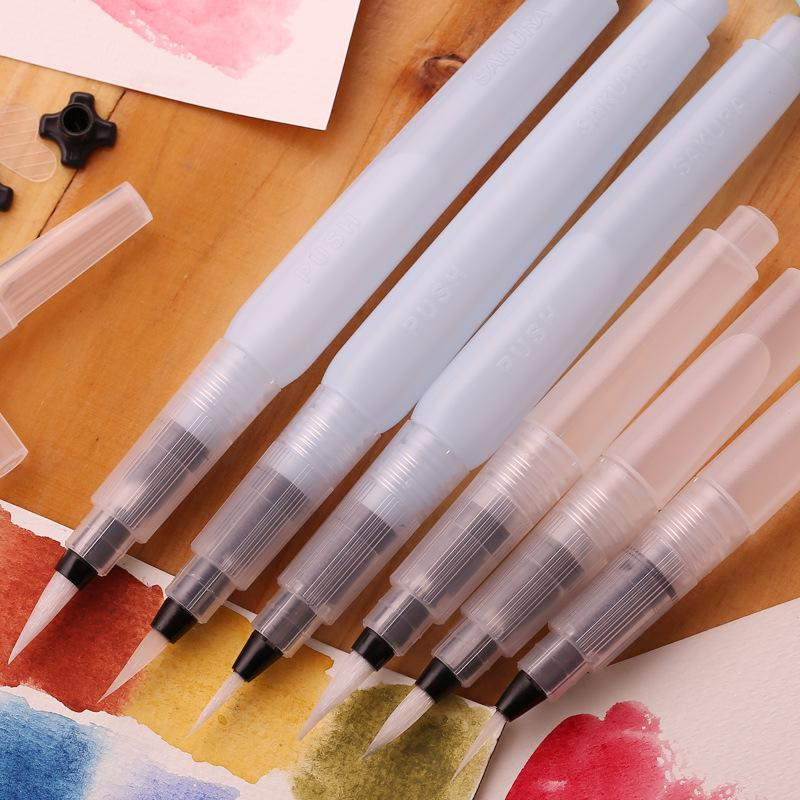 Water Pen Brushes - 3 Pieces - Jenra Store