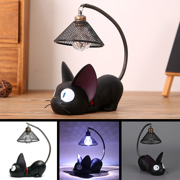 Little Black Cat Night Light - Jenra Store