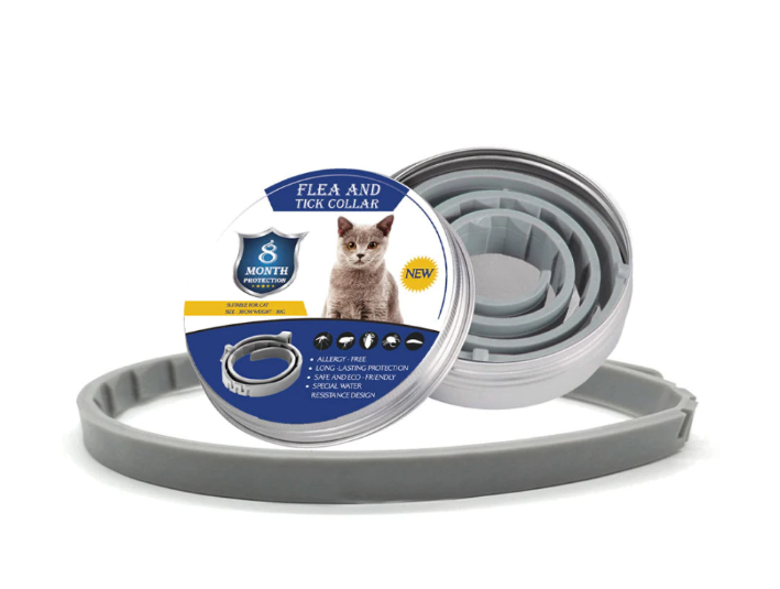 ZeroFlea™ - Pet Insect Repellent Collar - Kills & Repels Fleas for 8 Continuous Months