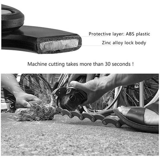 BIKLOCK™ - High Security Portable Folding Bike Lock -  The ONLY Bike Lock You'll EVER Need