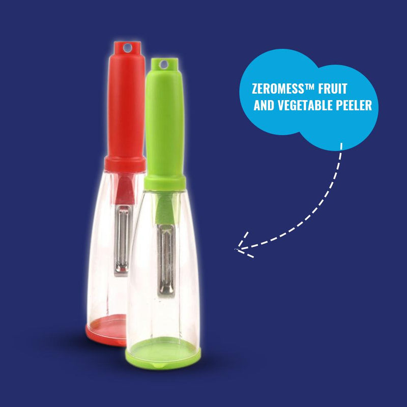 ZeroMess™-  Fruit and Vegetable Peeler - Save Time, Feel Good and Eat Healthy