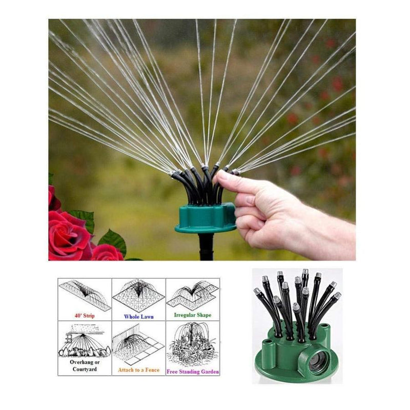 ADJUSTFLOW™ - 360 Degrees Adjustable Lawn Sprinkler - Easy to water your garden yard