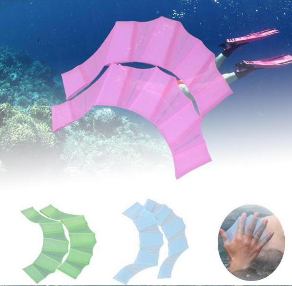 HydraHand™ - Webbed Swimming Gloves -  Merge with The Underwater World