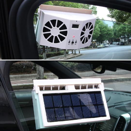 CoolCar™ - Solar Car Exhaust Heat Exhaust Fan - Say Good Bye To Hot Car