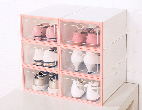 IBox™ - Drawer Type Shoe Box - Grab your shoes and go