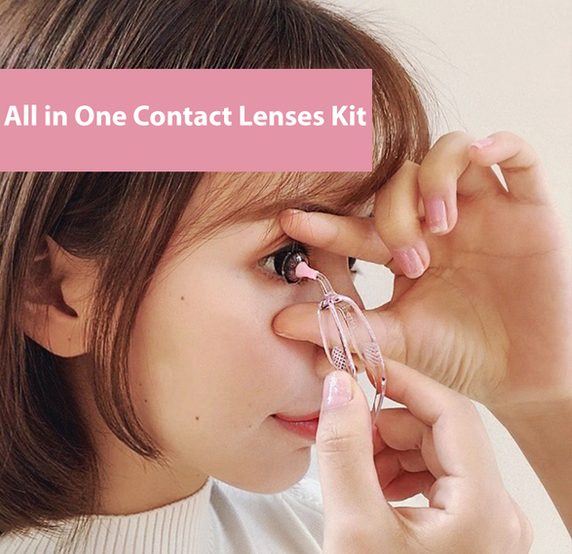 EasyLenses™ - All In One Contact Lenses Kit - Handle Soft Contact Lenses Perfectly