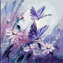 Load image into Gallery viewer, Butterfly & Flowers - Painting By Numbers - Jenra Store