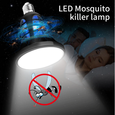 BugDestroyer™ - 2 in 1 LED Mosquito Killer Lamp - Trap and Kill Mosquitoes by 100%
