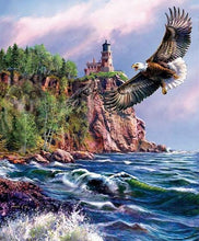 Load image into Gallery viewer, Eagle Landscape - Painting By Numbers - Jenra Store