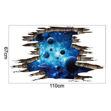 Load image into Gallery viewer, Space™ - 3D Galaxy Sticker - Jenra Store