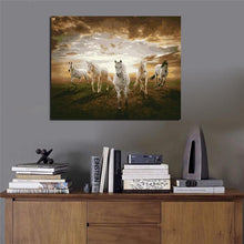 Load image into Gallery viewer, Five Horses Sunrise - Painting By Numbers - Jenra Store