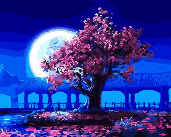 Full Moon™ - Painting By Numbers - Jenra Store
