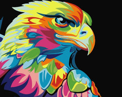 Artistic Eagle - Painting By Numbers - Jenra Store