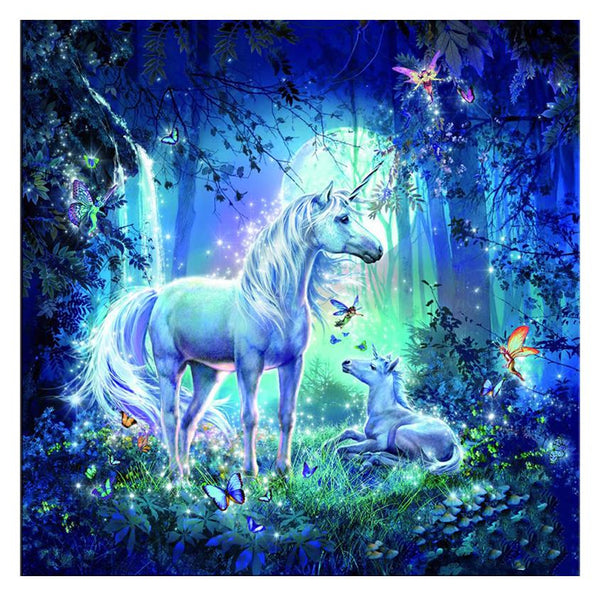 Unicorn & Fairy - 5D™ Diamond Painting Kit - Jenra Store