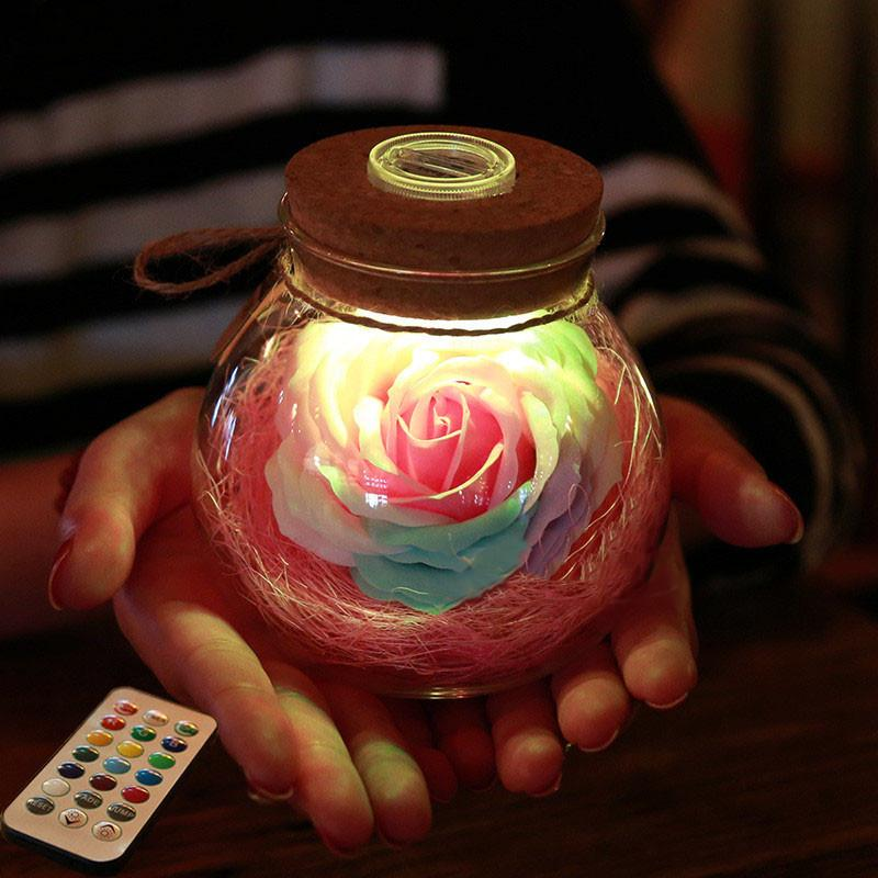 Blossom™ - LED Flower Jar - Jenra Store