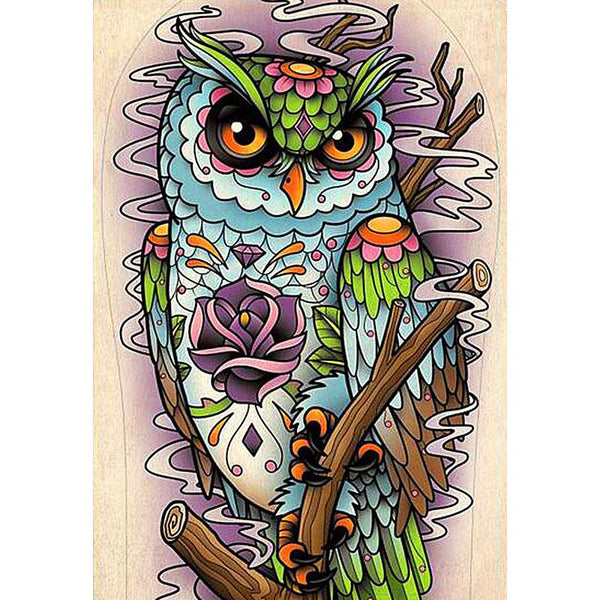 Forest Owl- 5D™ Diamond Painting Kit - Jenra Store