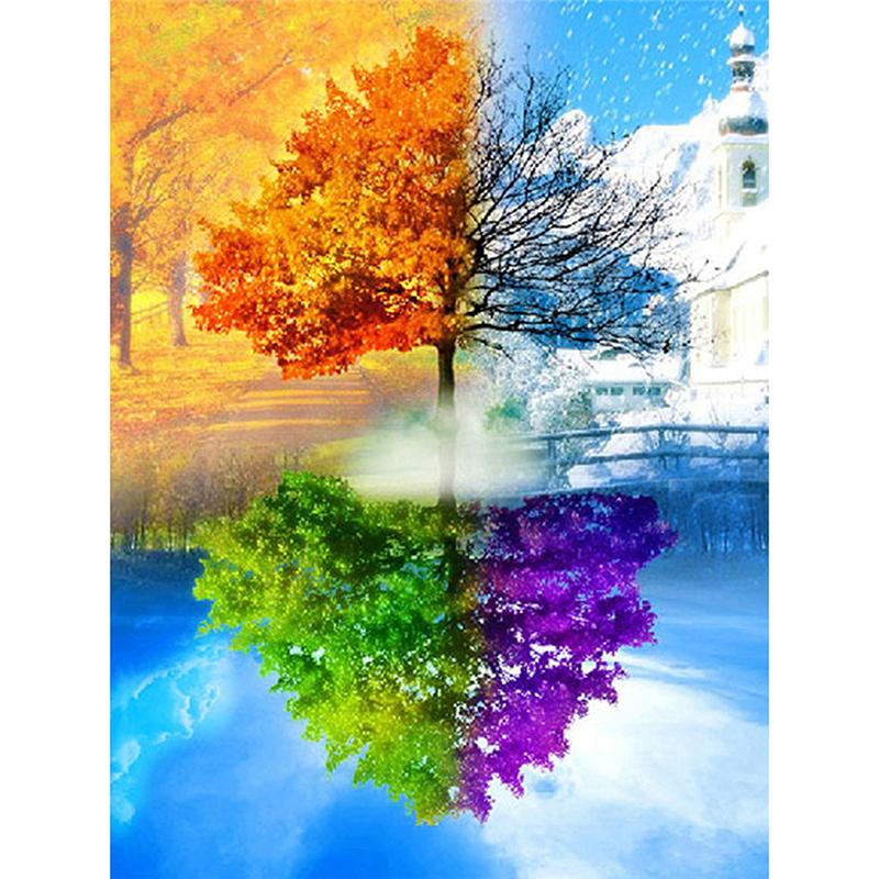 Season Switch - 5D™ Diamond Painting Kit - Jenra Store