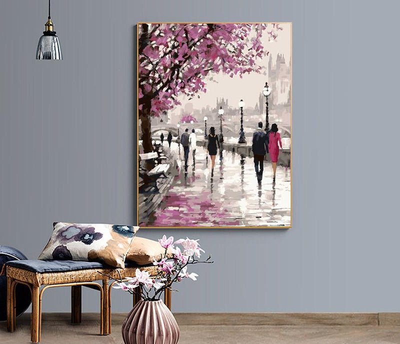 Blossom Landscape - Painting By Numbers - Jenra Store