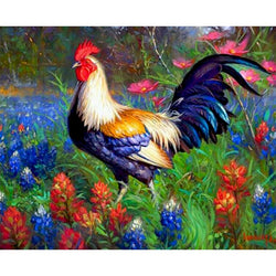 Roosters- 5D™ Diamond Painting Kit - Jenra Store