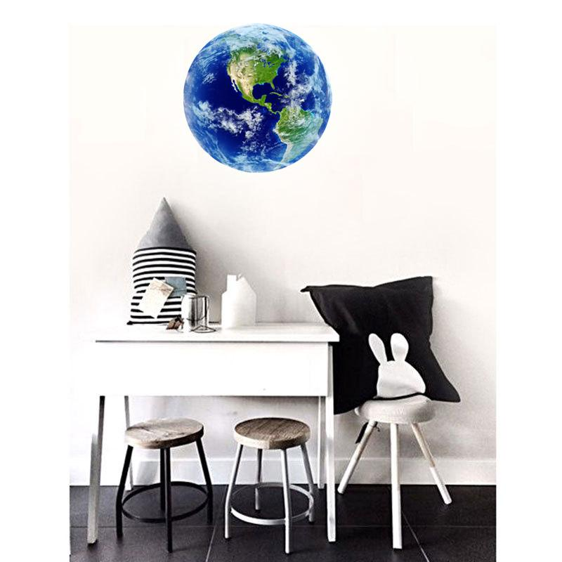 Space™ - 3D Glow in the Dark Earth Sticker - Jenra Store